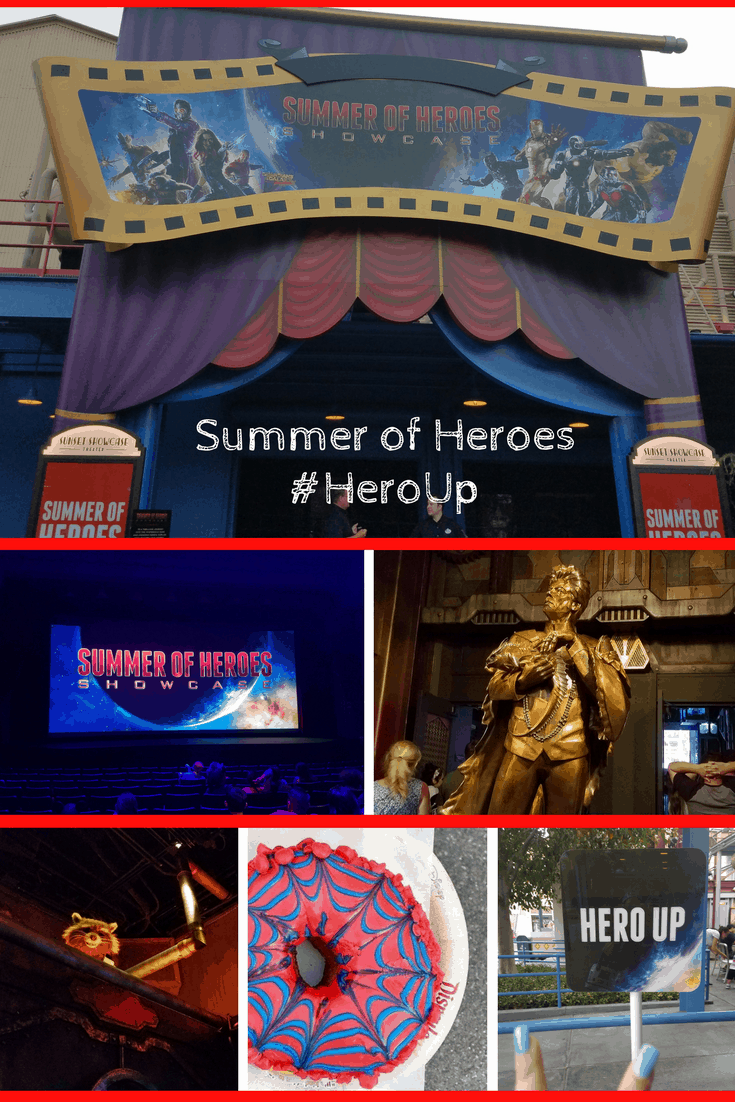 D23 Expo at Disneyland Disney California Adventure - Summer Of Heroes - Marvel, Avengers, Guardians of the Galaxy - #HeroUp