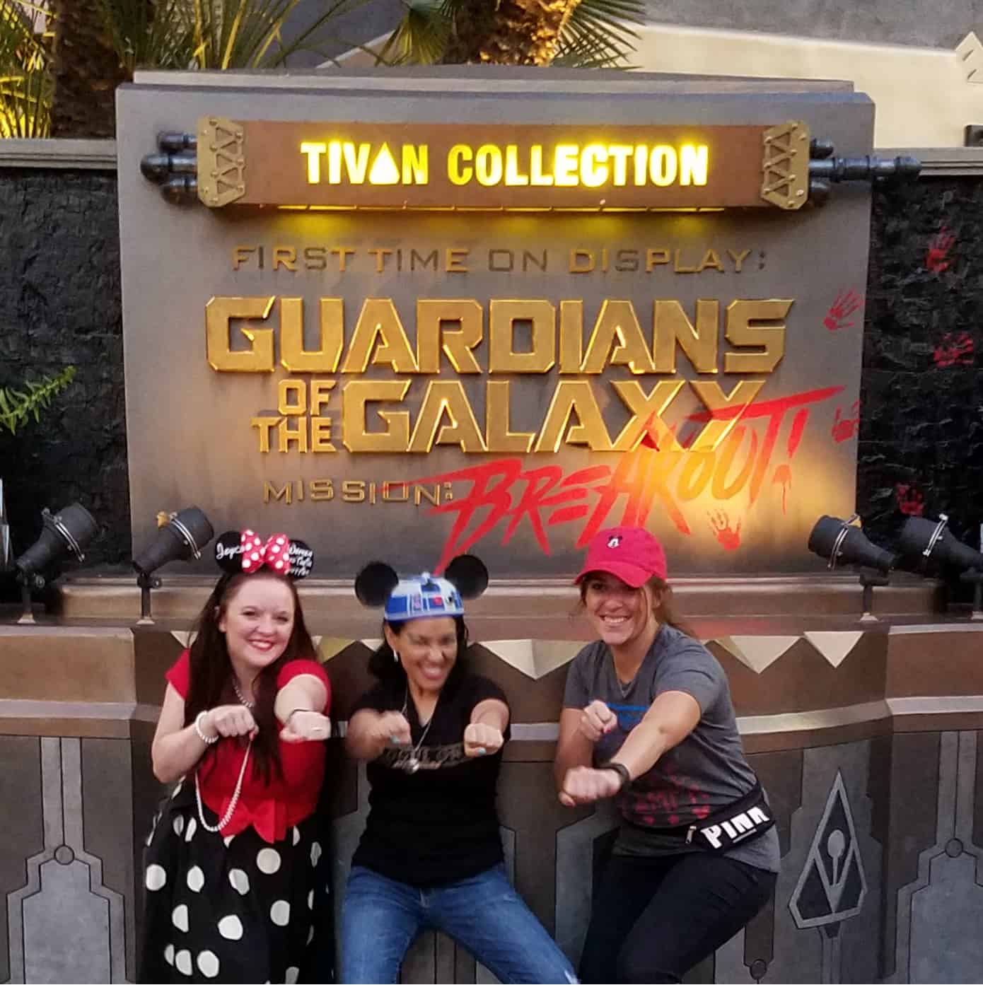 While at D23 Expo - Disneyland and Disney California Adventure - Summer of Heroes - Guardians of the Galaxy: Mission Breakout