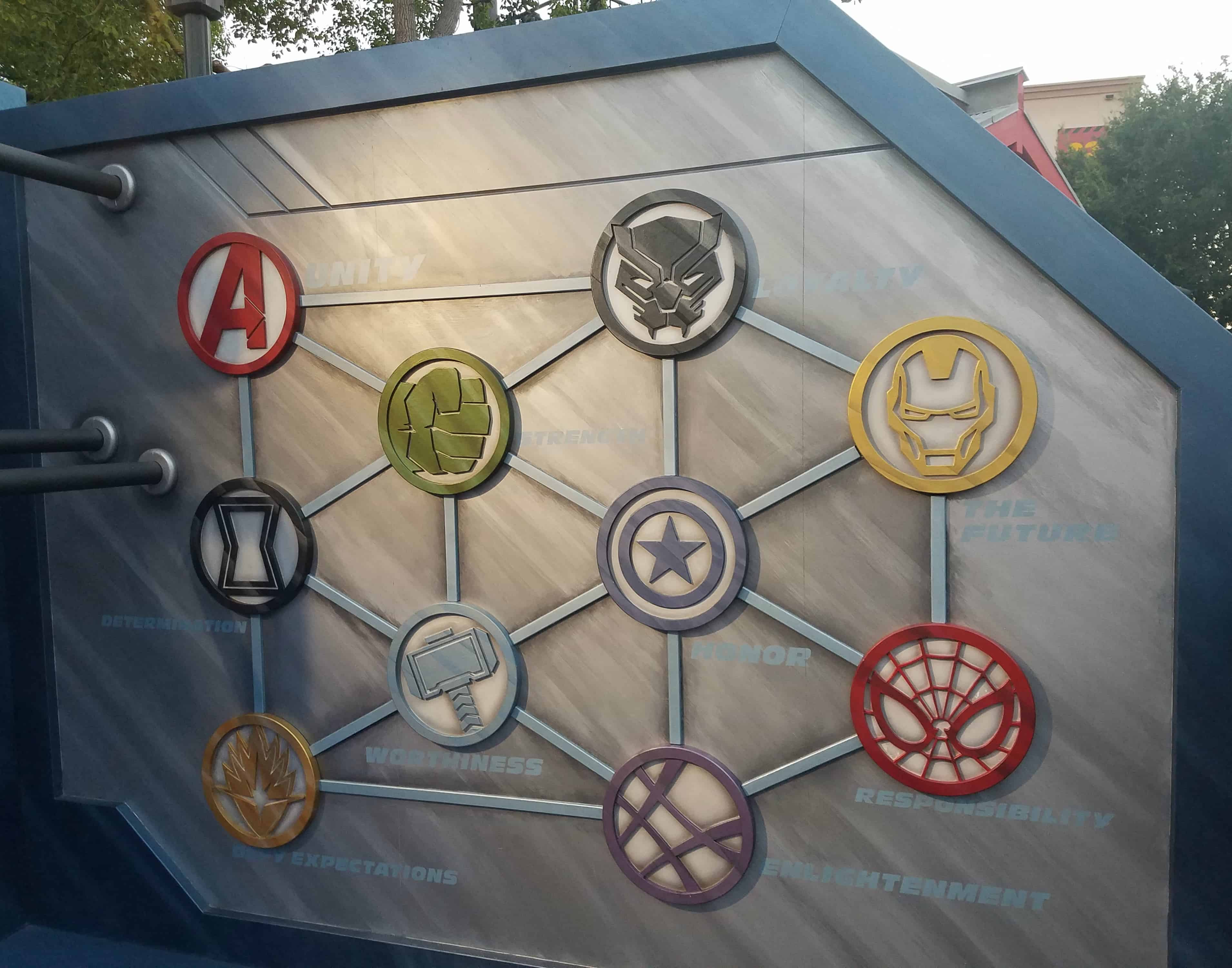 While at D23 Expo - Disneyland and Disney California Adventure - Summer of Heroes - Marvel Avengers