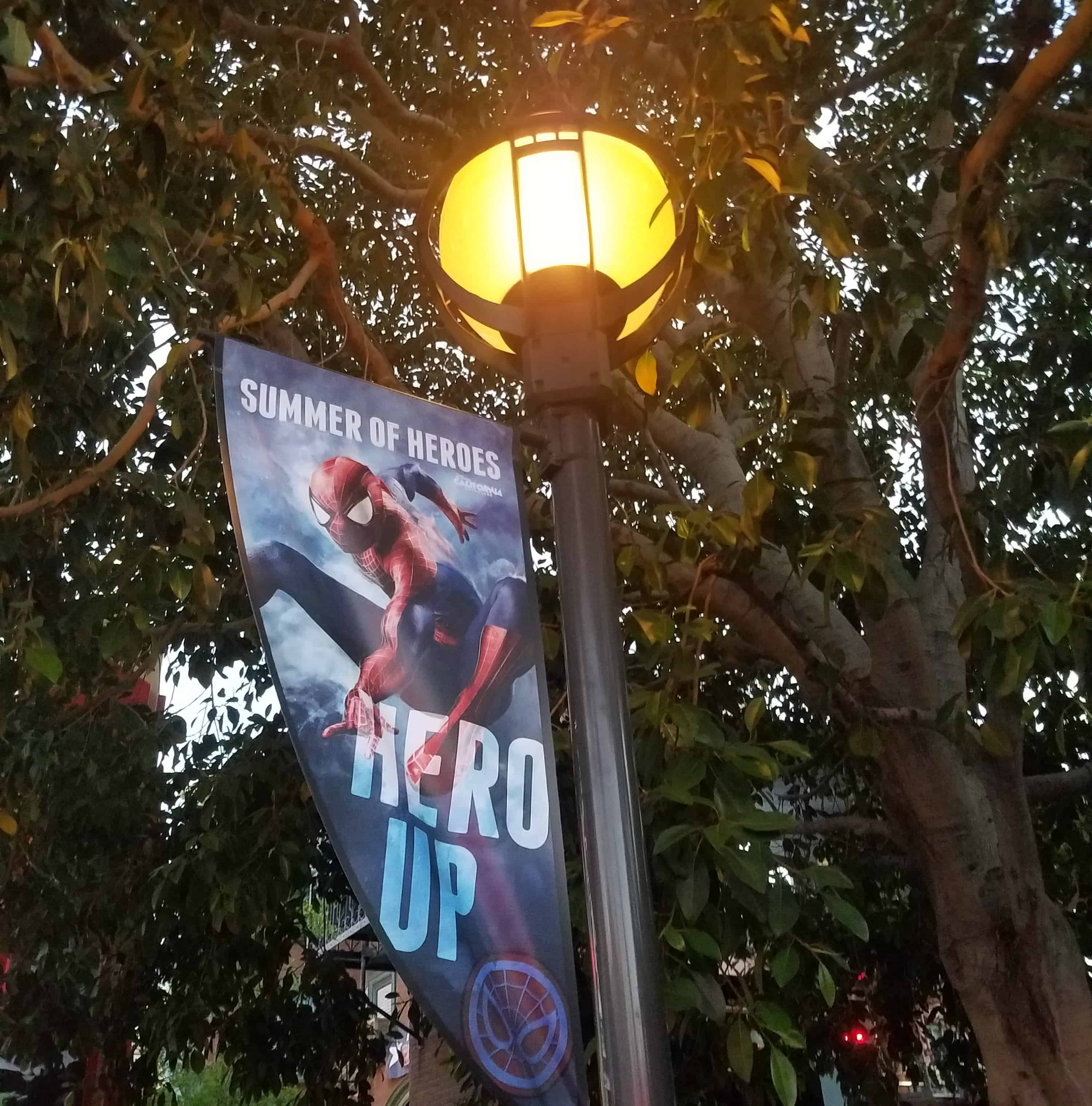 While at D23 Expo - Disneyland and Disney California Adventure - Summer of Heroes - Marvel Avengers Summer of Heroes