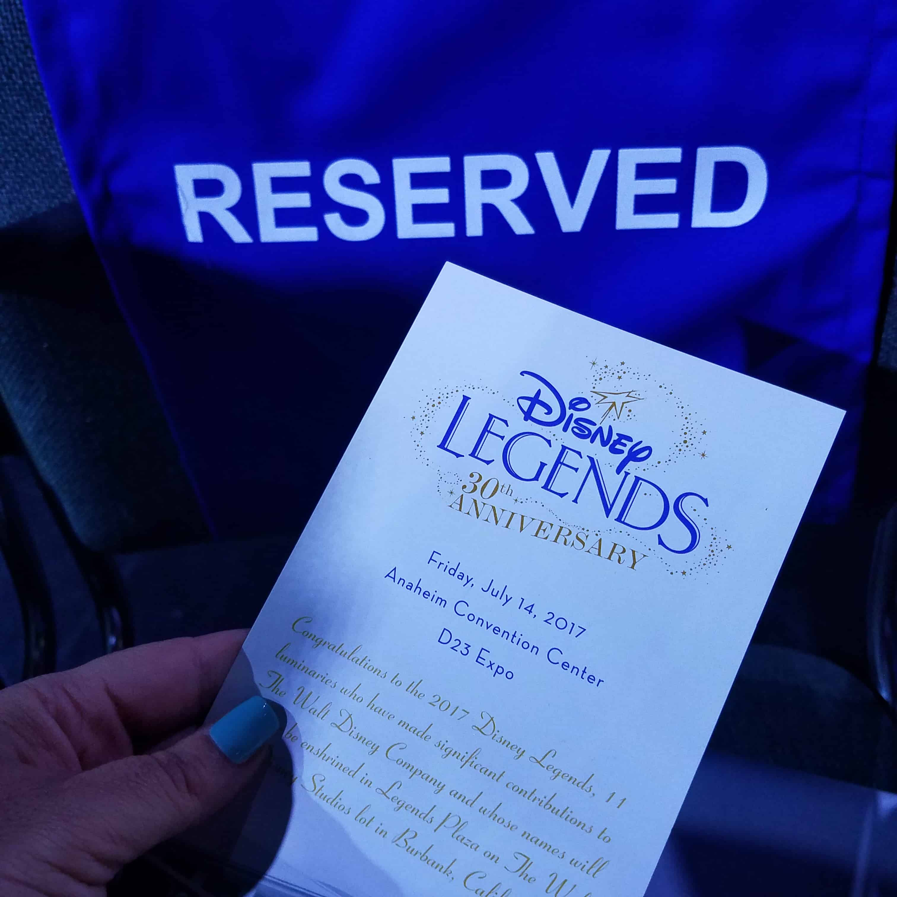 D23 Expo Walt Disney Legends Awards Ceremony