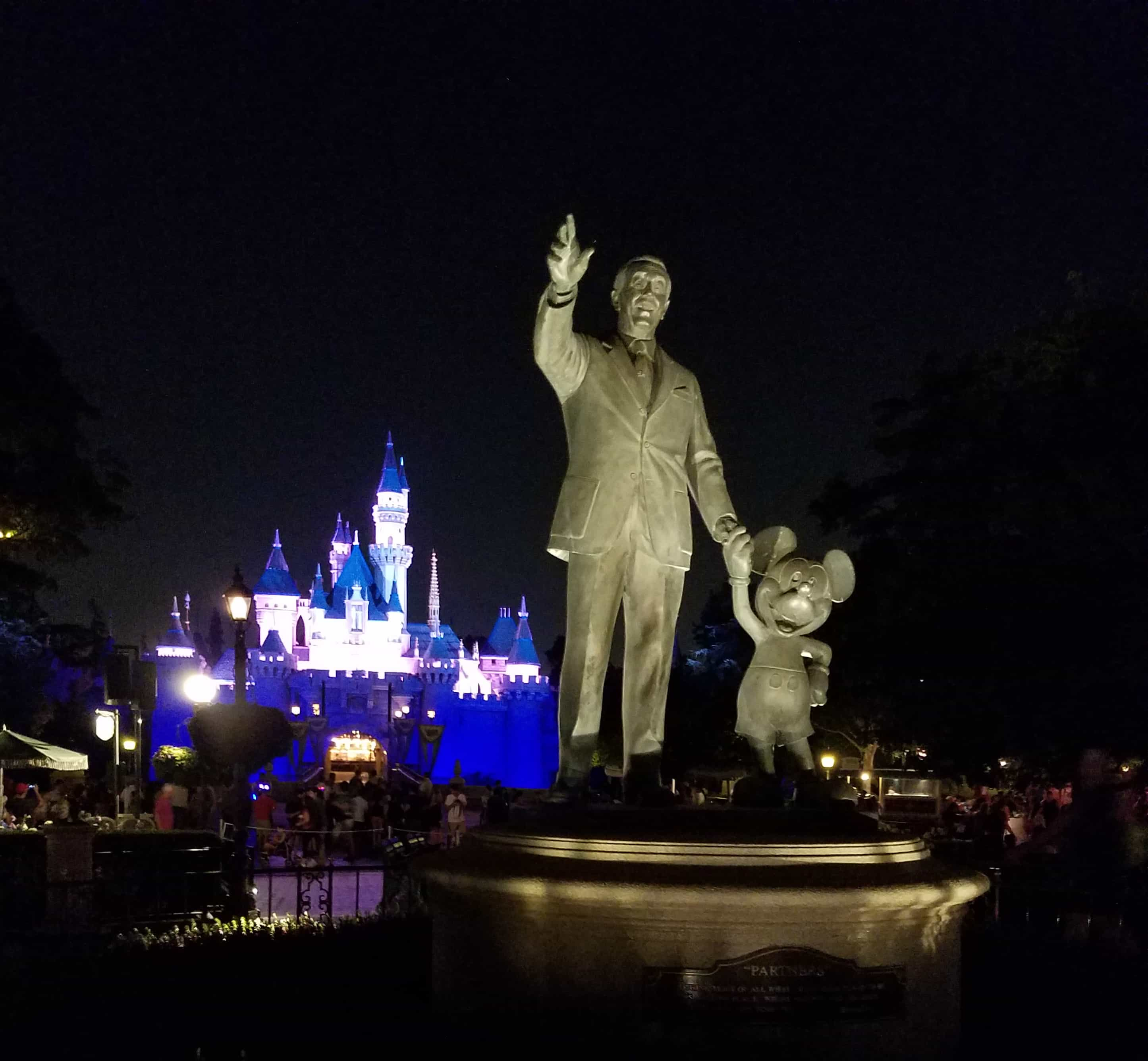 While at D23 Expo - Disneyland and Disney California Adventure - Walt Disney and Mickey Mouse