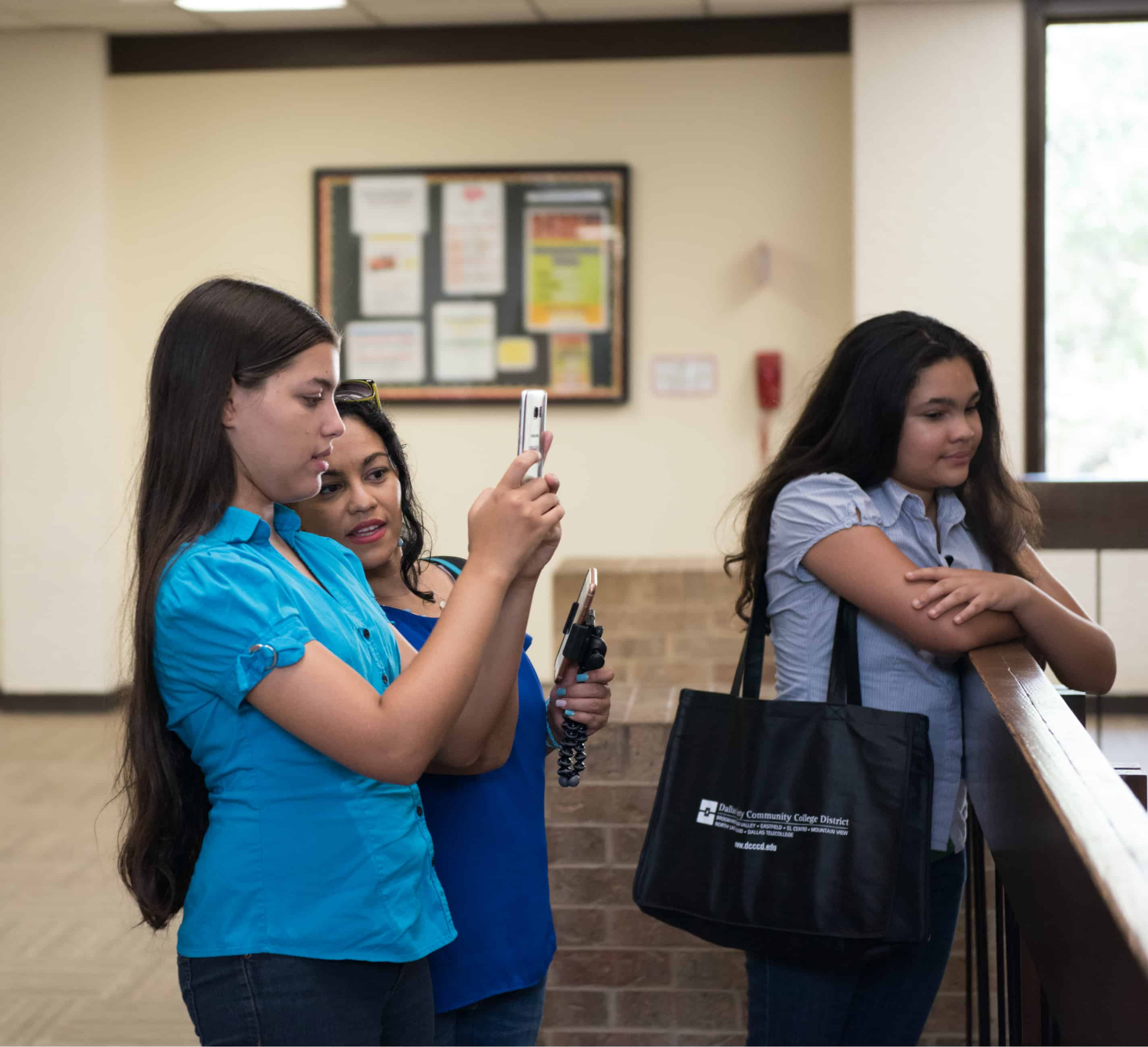 Dallas Community Colleges - Eastfield Campus - taking photos