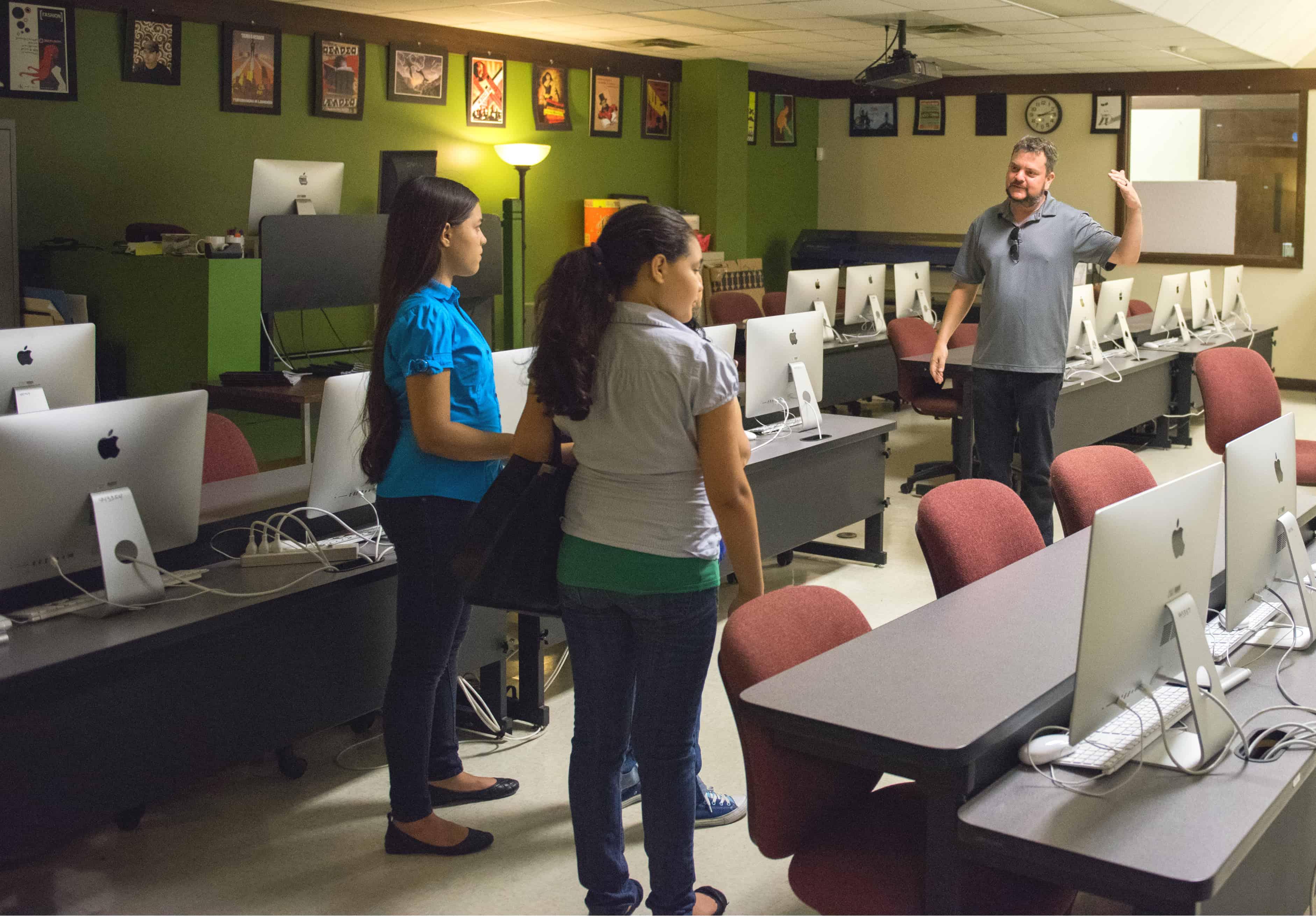 Dallas Community Colleges - Eastfield Campus Influencer Tour - Digital Media Department