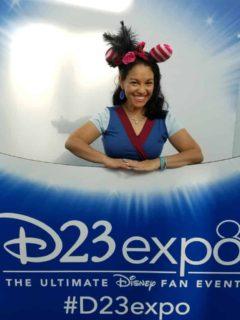 Elayna Fernandez - The Positive MOM - D23 Expo