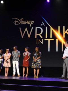 D23 EXPO 2017 - Saturday, July 15, 2017 - The Ultimate Disney Fan Event - brings together all the worlds of Disney under one roof for three packed days of presentations, pavilions, experiences, concerts, sneak peeks, shopping, and more. The event, which takes place July 14-16 at the Anaheim Convention Center, provides fans with unprecedented access to Disney films, television, games, theme parks, and celebrities. (Disney/Image Group LA) OPRAH WINFREY, MINDY KALING, REESE WITHERSPOON, CHRIS PINE, STORM REID, AVA DUVERNAY, SEAN BAILEY (PRESIDENT, WALT DISNEY STUDIOS MOTION PICTURE PRODUCTION)