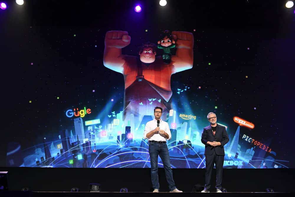 D23 EXPO 2017 - Friday, July 14, 2017 - The Ultimate Disney Fan Event - brings together all the worlds of Disney under one roof for three packed days of presentations, pavilions, experiences, concerts, sneak peeks, shopping, and more. The event, which takes place July 14-16 at the Anaheim Convention Center, provides fans with unprecedented access to Disney films, television, games, theme parks, and celebrities. (Disney/Image Group LA) PHIL JOHNSTON, RICH MOORE
