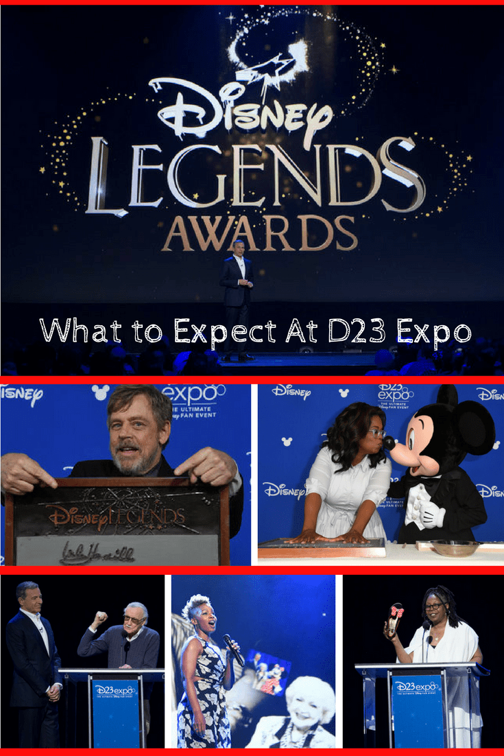 What to Expect at D23 Expo - Disney Legends Awards Ceremony