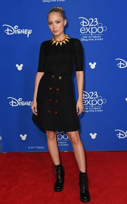 D23 Expo - Pom Klementieff on the Red Carpet (Mantis of Guardians Of The Galaxy Vol. 2 and Avengers: Infinity War)