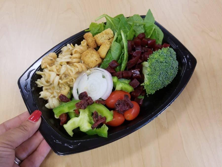 Chuck E Cheeses salad