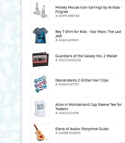 Top Cash Back | shop at the Disney Store - Shopping Cart Finds