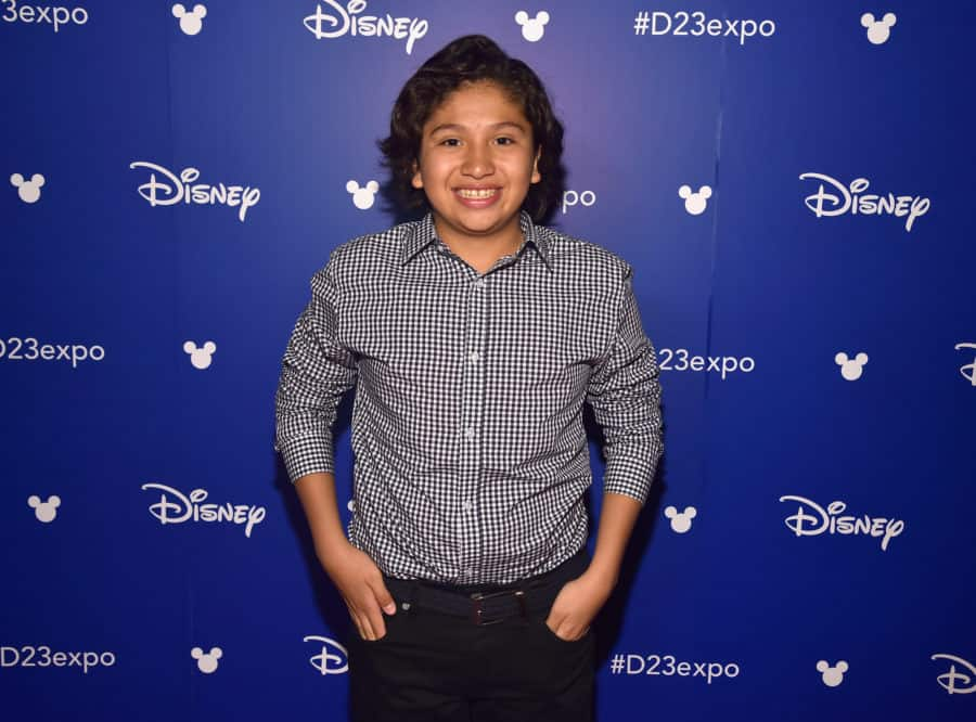ANAHEIM, CA - JULY 14:  Actor Anthony Gonzalez of COCO took part today in the Walt Disney Studios animation presentation at Disney's D23 EXPO 2017 in Anaheim, Calif. COCO will be released in U.S. theaters on November 22, 2017.  (Photo by Alberto E. Rodriguez/Getty Images for Disney) *** Local Caption *** Anthony Gonzalez