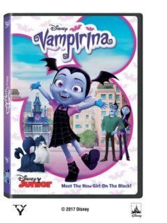 Vampirina Disney DVD Giveaway
