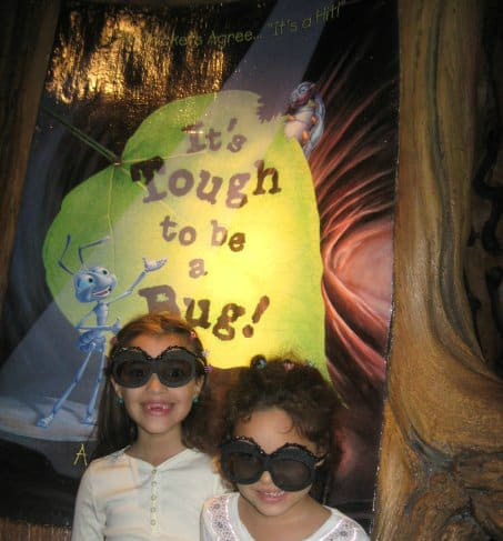 Walt Disney World with Your Preschooler - It's tough to be a bug