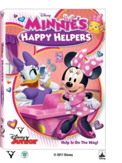 Disney Junior presents Minnie's Helping Hearts on Disney DVD - giveaway