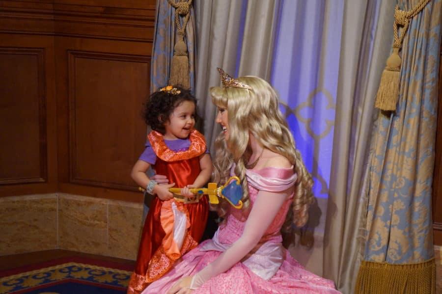 Walt Disney World with Your Preschooler - Princess Aurora - Sleeping Beauty