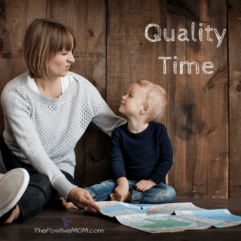 The 5 Love Languages - Quality Time - The Positive MOM