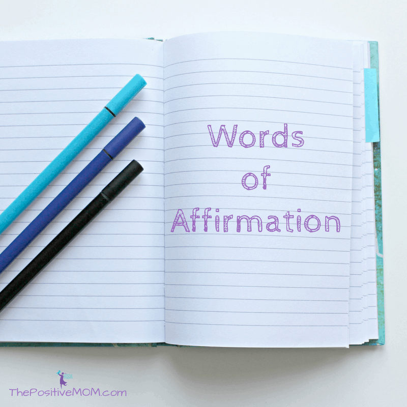 The 5 Love Languages - Words of Affirmation - The Positive MOM