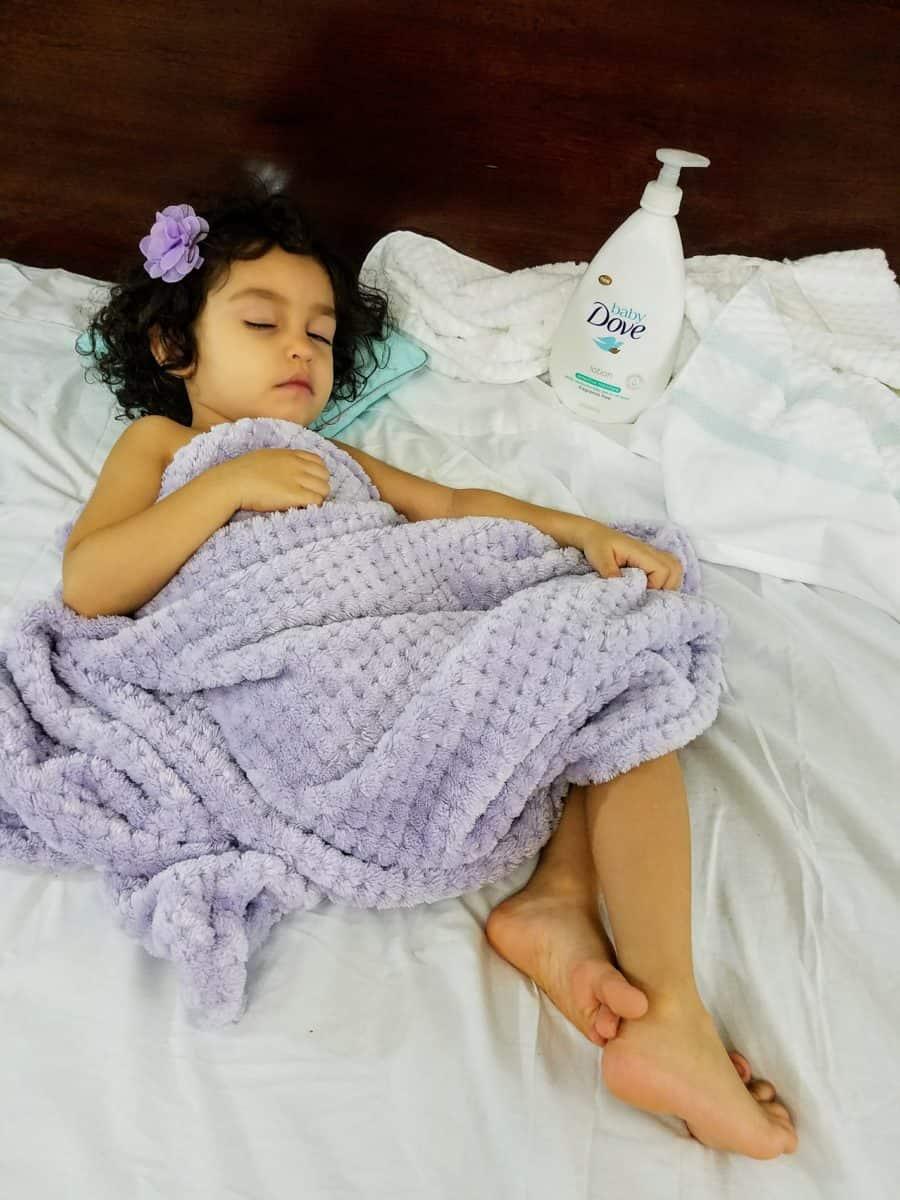 Baby Dove toddler skin care
