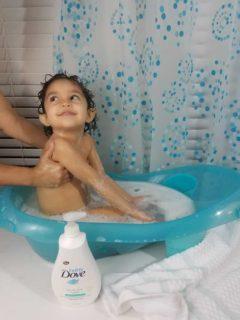 Baby Dove bath time baby wash