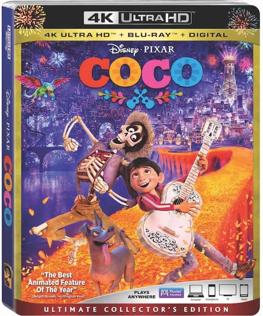 Pixar Coco Disney DVD giveaway