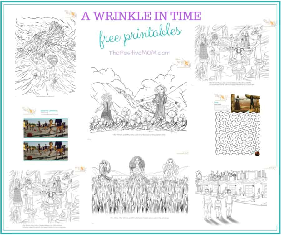 A Wrinkle in Time - Free Printables