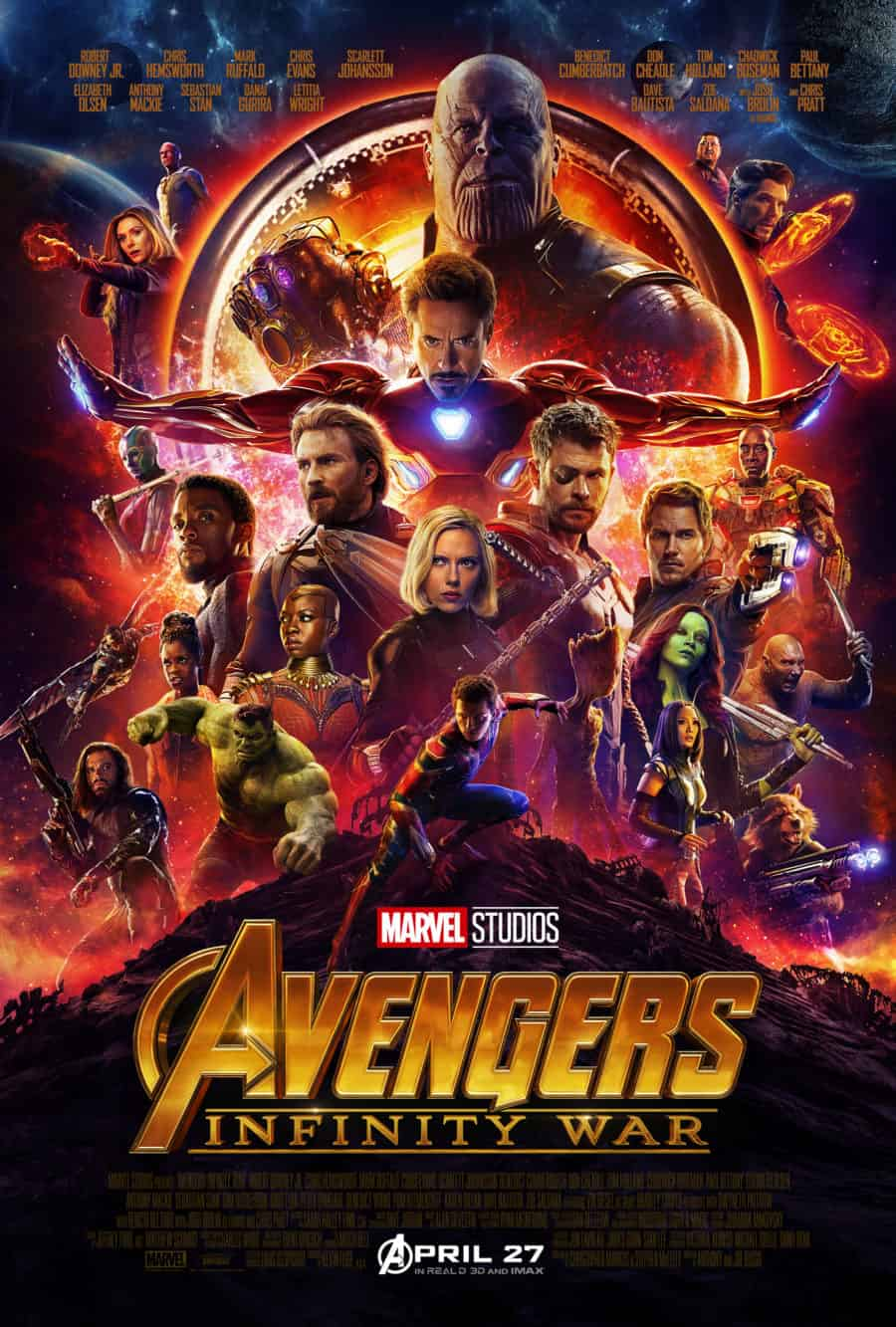 Marvel Studios Releases Avengers Infinity War Poster And Trailer