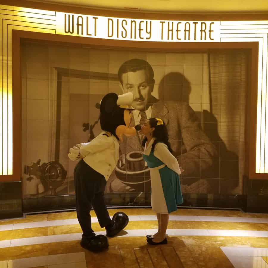 Disney Cruise Line - Captain Mickey Mouse kiss