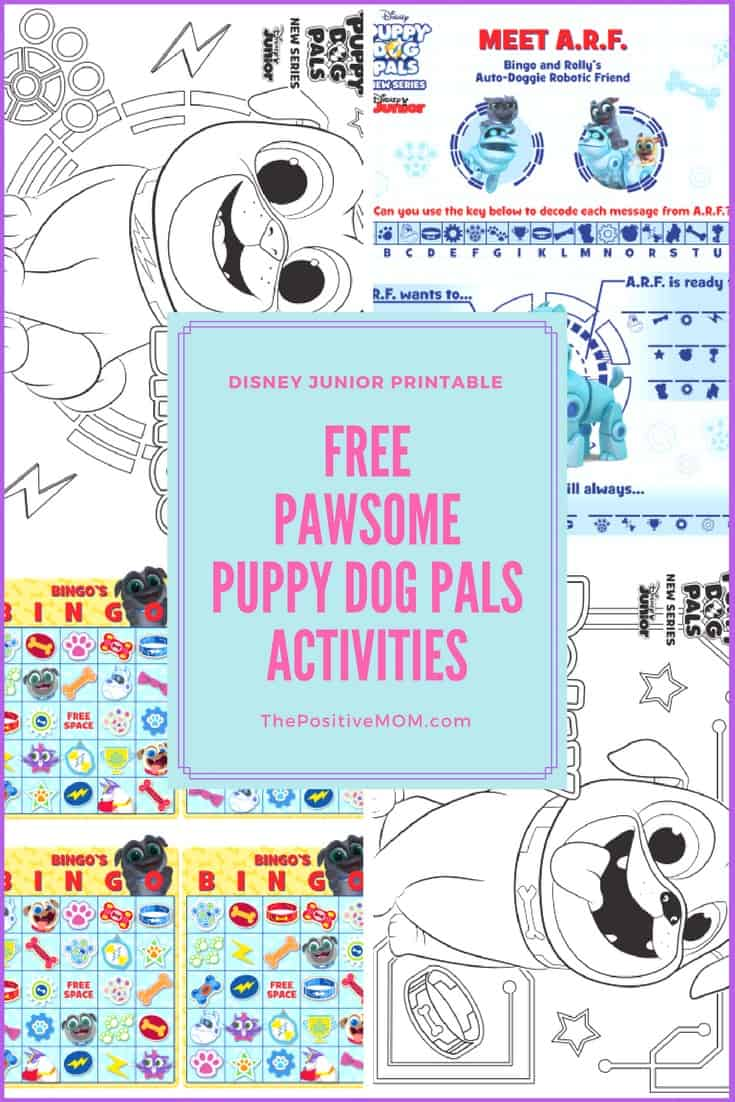 Free Puppy Dog Pals Activity Sheets For Kids Disneyjunior