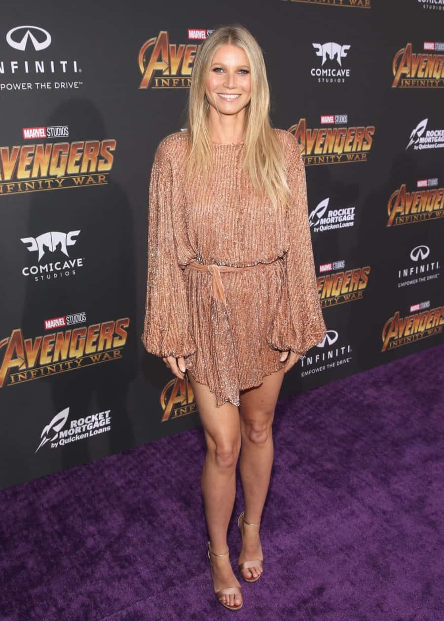HOLLYWOOD, CA - APRIL 23:  Actor Gwyneth Paltrow attends the Los Angeles Global Premiere for Marvel Studios' Avengers: Infinity War on April 23, 2018 in Hollywood, California.  (Photo by Jesse Grant/Getty Images for Disney) *** Local Caption *** Gwyneth Paltrow