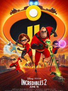 Disney Pixar Incredibles 2 Poster