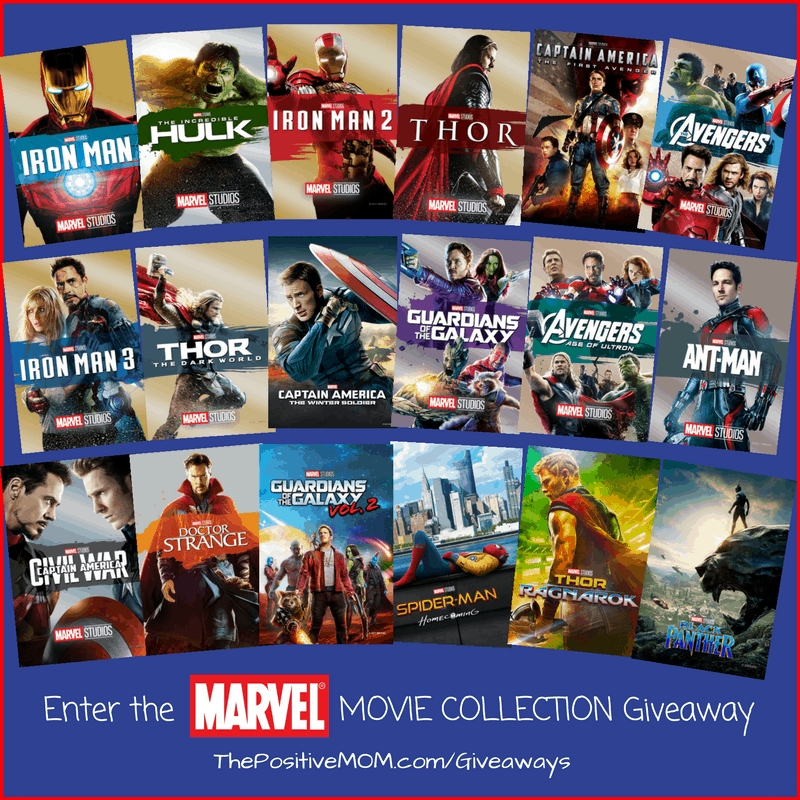Enter the Marvel Movie Collection Giveaway