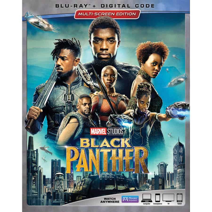 Marvel Studios Black Panther - BluRay Digital DVD
