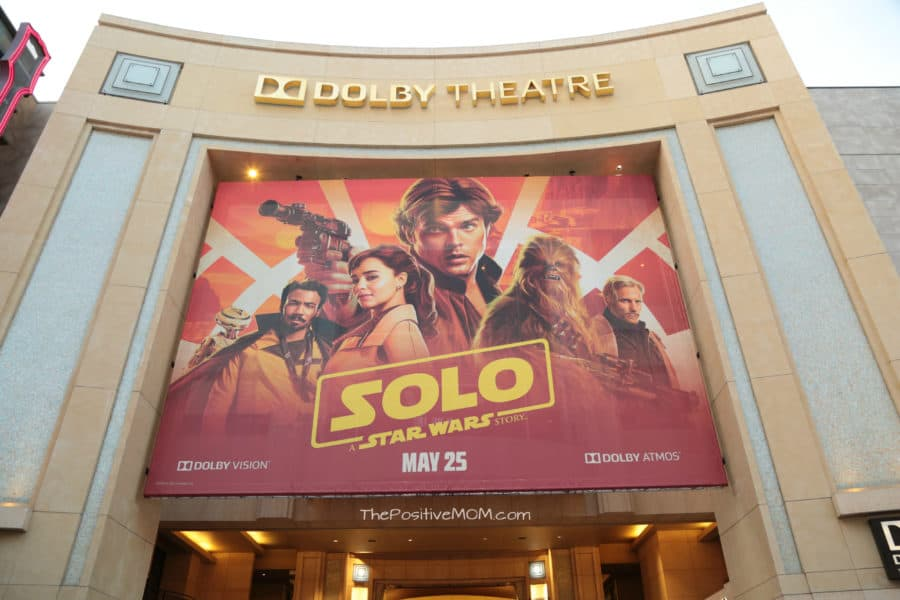 A view of the Dolby Theater during the world premiere of ÒSolo: A Star Wars StoryÓ in Hollywood on May 10, 2018..(Photo: Alex J. Berliner/ABImages).