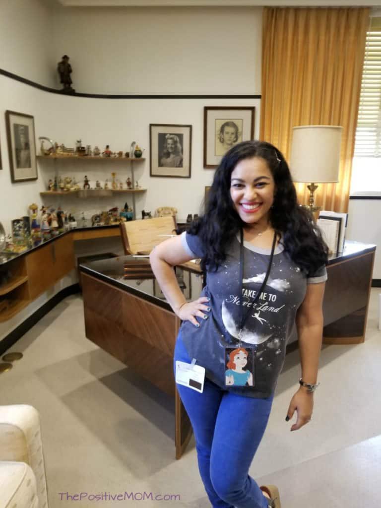 Elayna Walt Disney Desk office tour
