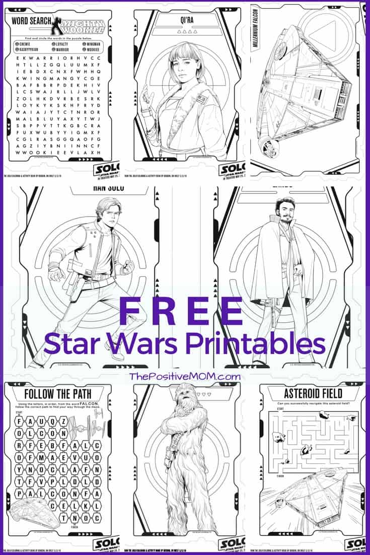 Free Printable Star Wars Coloring Pages | #HanSolo #HanSoloEvent ...