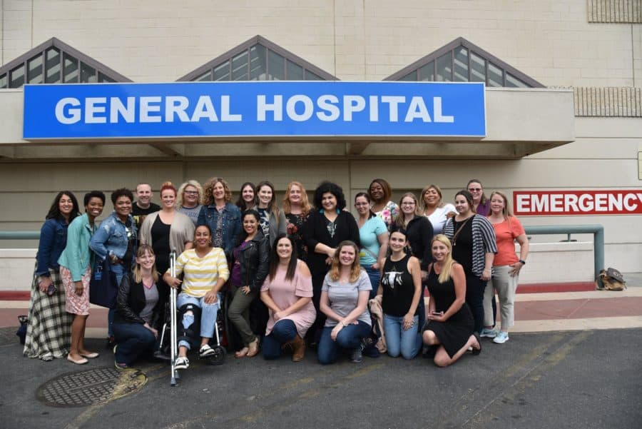 Behind The Scenes On The Set Of General Hospital Generalhospital