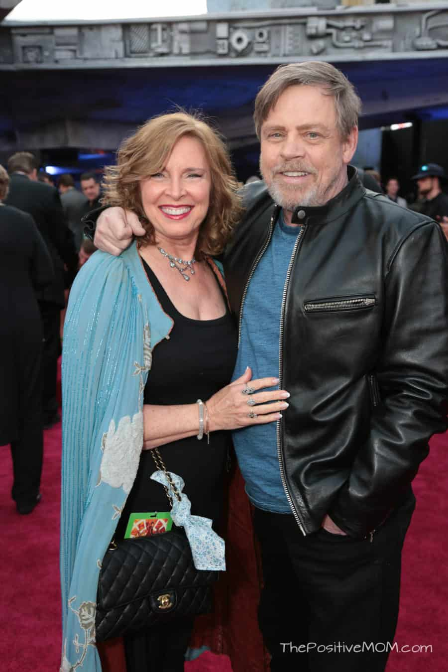 Marilou York and Mark Hamill attend the world premiere of ÒSolo: A Star Wars StoryÓ in Hollywood on May 10, 2018..(Photo: Alex J. Berliner/ABImages).