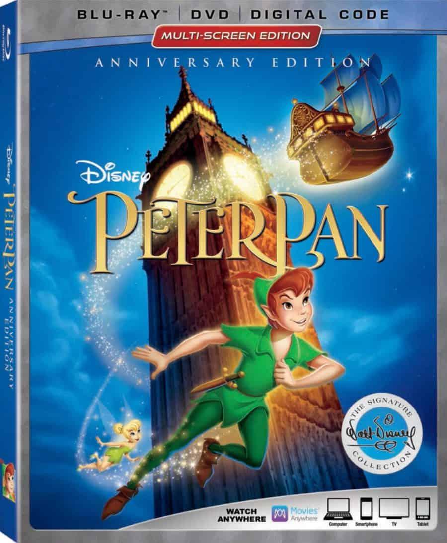 Peter Pan in home release