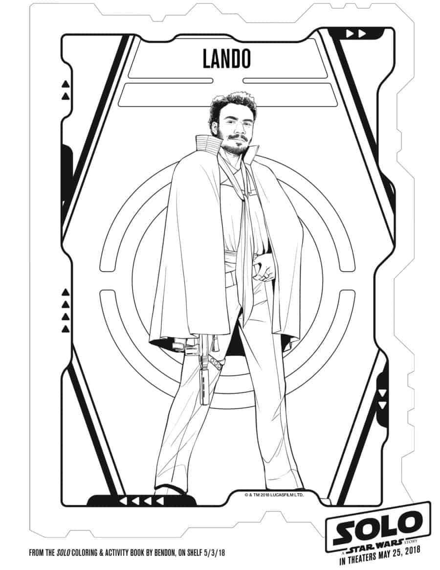 Free printable star wars coloring pages hansolo for Han solo coloring pages