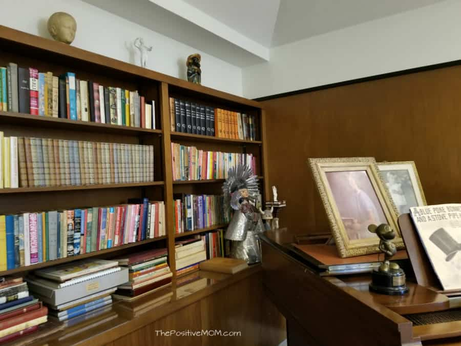 Walt Disney Office Bookshelf