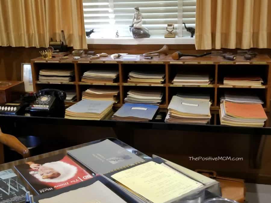 Walt Disney office desk