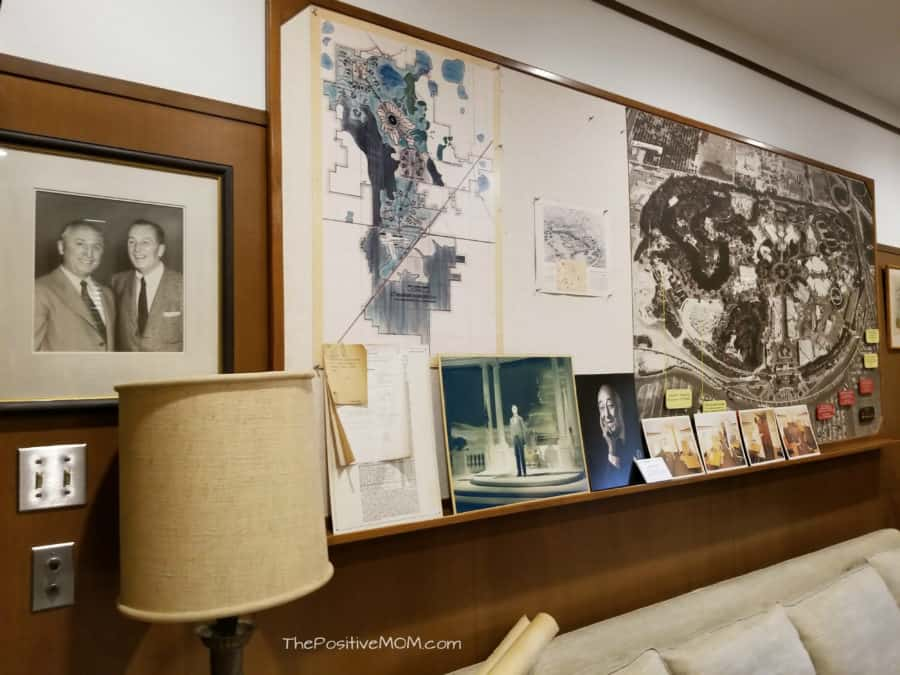 Walt Disney Office Map Photos