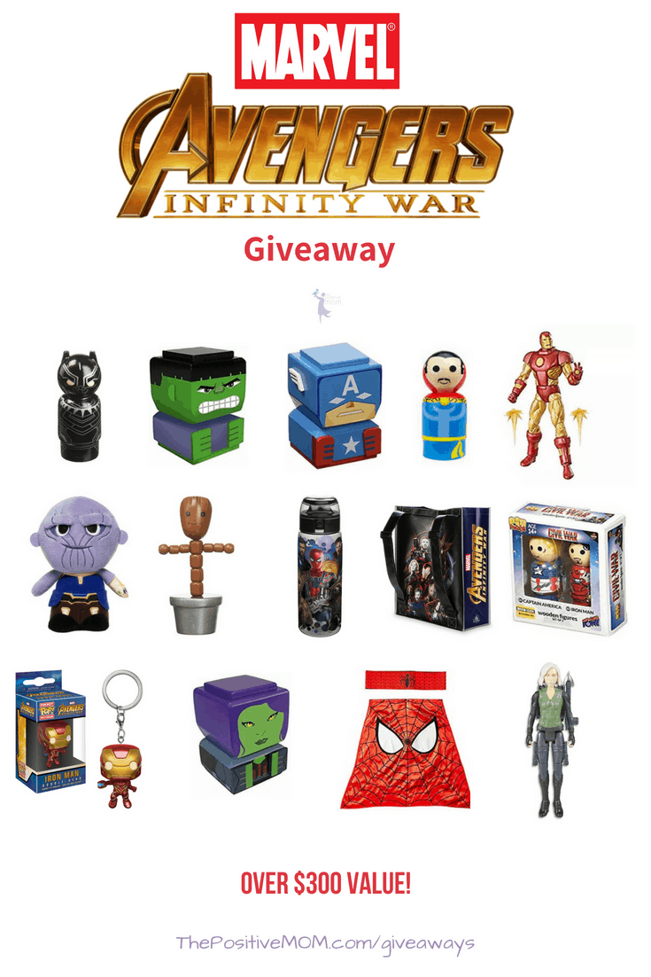 (Ended) Avengers:Infinity War Gift Pack Giveaway