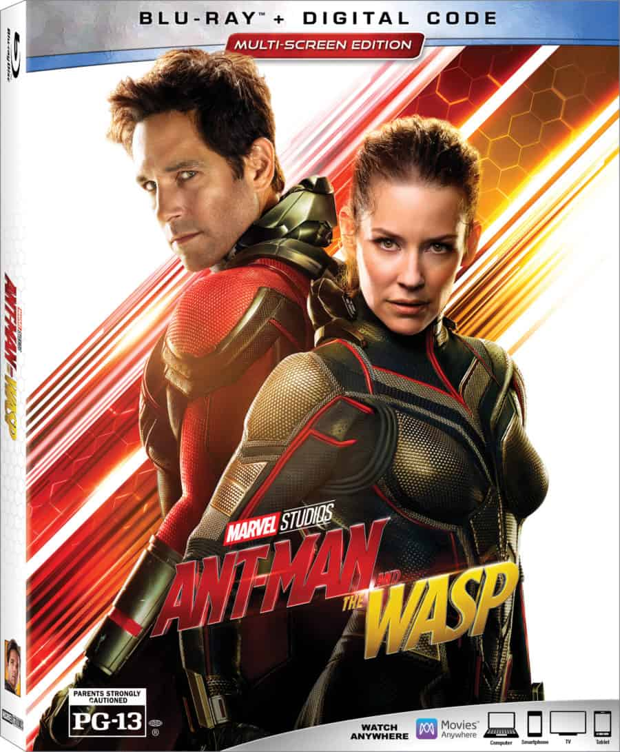 Ant-Man and The Wasp Bluray Bonus Features and Digital Code Giveaway