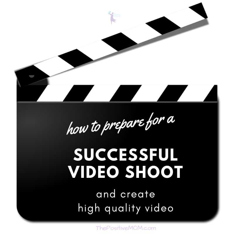 How to prepare for a successful video shoot and create high quality video