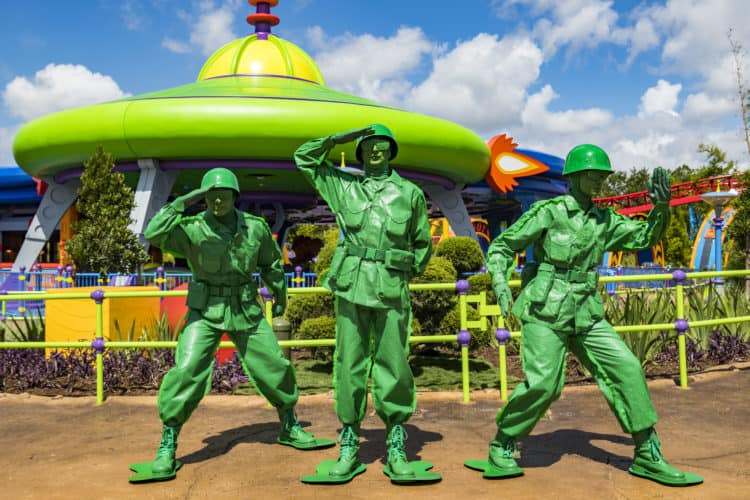 Toy Story Land Encounters