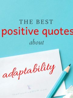 The best positive quotes about adaptability