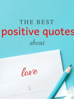 The best positive quotes about love