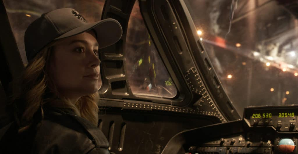 Marvel Studios' CAPTAIN MARVEL..Captain Marvel (Brie Larson)..Photo: Chuck Zlotnick..©Marvel Studios 2019